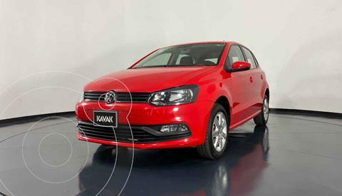 Volkswagen Polo Hatchback 1.6L Aut usado (2016) color Rojo precio $192,999