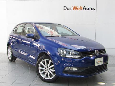 Volkswagen Polo Hatchback Design & Sound Tiptronic usado (2020) color Azul precio $263,000