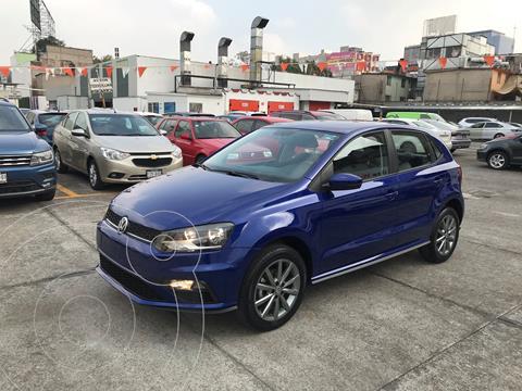 Volkswagen Polo Hatchback Comfortline Plus usado (2020) color Azul financiado en mensualidades(enganche $6,419 mensualidades desde $6,419)