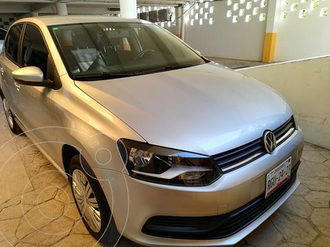 Volkswagen Polo Hatchback Startline usado (2020) color Plata precio $198,000