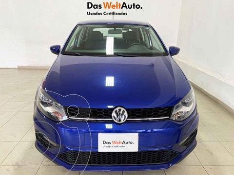 Volkswagen Polo Hatchback Comfortline Plus Tiptronic usado (2020) color Azul precio $283,609