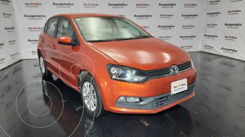 Volkswagen Polo Hatchback 1.6L usado (2018) color Naranja precio $179,990