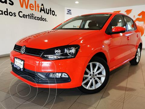 Volkswagen Polo Hatchback Disign & Sound Tiptronic usado (2019) color Rojo financiado en mensualidades(enganche $57,970 mensualidades desde $5,979)