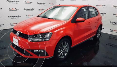 Volkswagen Polo Hatchback Design & Sound usado (2020) color Rojo financiado en mensualidades(enganche $52,000 mensualidades desde $5,619)