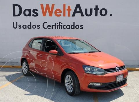Volkswagen Polo Hatchback 1.6L usado (2017) color Naranja Cobre precio $179,000
