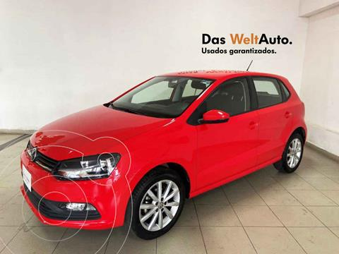 Volkswagen Polo Hatchback Disign & Sound Tiptronic usado (2020) color Rojo precio $228,150