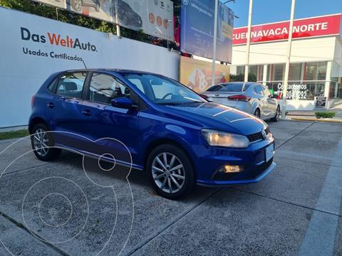 Volkswagen Polo Hatchback Comfortline Plus usado (2020) color Azul precio $264,900