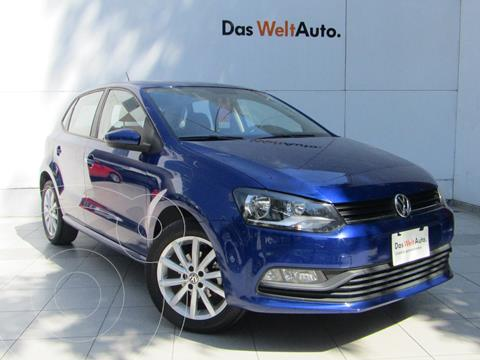 Volkswagen Polo Hatchback 1.6L Tiptronic usado (2020) color Azul precio $245,000