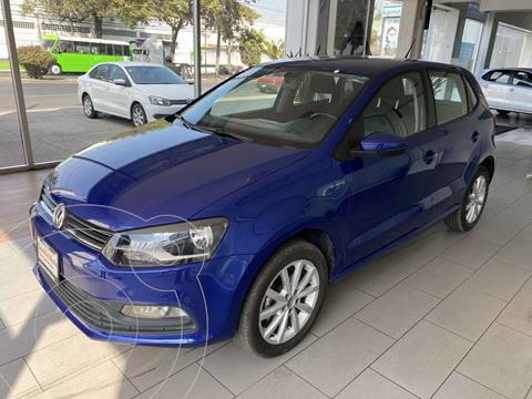 Volkswagen Polo Hatchback Disign & Sound Tiptronic usado (2020) color Azul precio $235,000