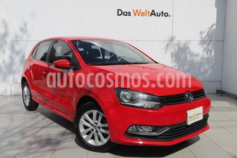 Volkswagen Polo Hatchback 1.2L TSI Aut usado (2016) color Rojo Flash precio $169,000
