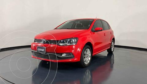 Volkswagen Polo Hatchback 1.6L Aut usado (2016) color Rojo precio $184,999