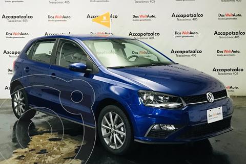 Volkswagen Polo Hatchback Design & Sound Tiptronic usado (2020) color Azul financiado en mensualidades(enganche $55,000 mensualidades desde $6,146)