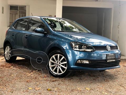 foto Volkswagen Polo Hatchback Design & Sound Tiptronic usado (2019) color Azul precio $229,000