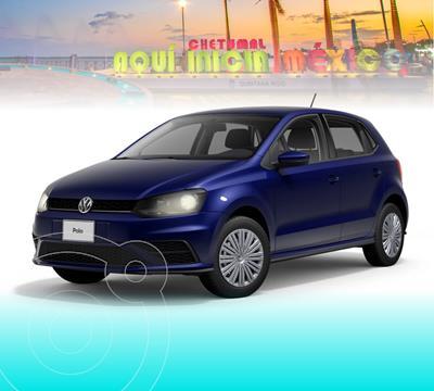 Volkswagen Polo Hatchback Startline nuevo color Azul Metalico precio $225,301