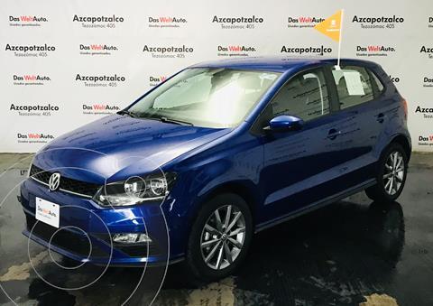 Volkswagen Polo Hatchback Design & Sound Tiptronic usado (2020) color Azul precio $279,990