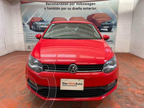 Volkswagen Polo Hatchback Design & Sound usado (2020) color Rojo precio $235,000