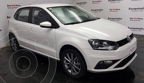 Volkswagen Polo Hatchback Design & Sound usado (2020) color Blanco financiado en mensualidades(enganche $45,000 mensualidades desde $4,108)