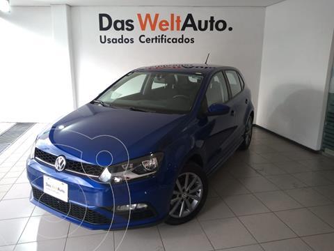 Volkswagen Polo Hatchback Comfortline Plus usado (2020) color Azul financiado en mensualidades(enganche $67,250 mensualidades desde $4,500)