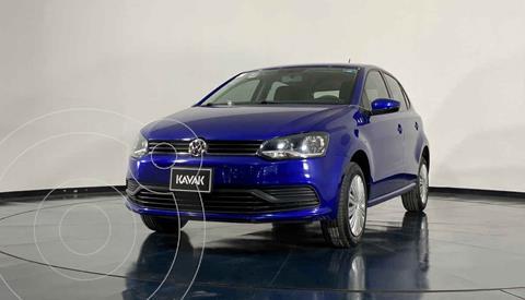 Volkswagen Polo Hatchback Startline usado (2020) color Azul precio $242,999