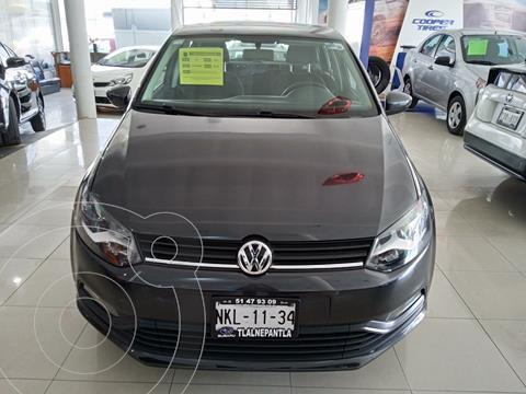 Volkswagen Polo Hatchback 1.2L TSI Aut usado (2016) color Gris precio $173,000