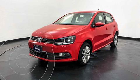 Volkswagen Polo Hatchback 1.6L Aut usado (2016) color Rojo precio $182,999