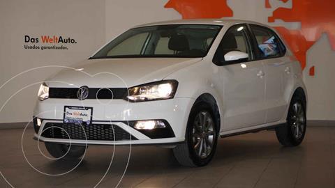 Volkswagen Polo Hatchback Disign & Sound Tiptronic usado (2020) color Blanco precio $259,500