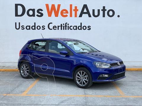 Volkswagen Polo Hatchback Comfortline Plus usado (2020) color Azul precio $265,000