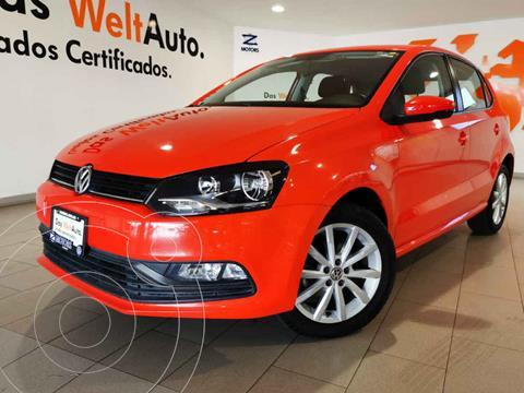 Volkswagen Polo Hatchback Design & Sound usado (2019) color Rojo precio $235,500