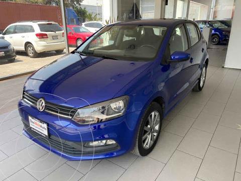 Volkswagen Polo Hatchback Design & Sound usado (2020) color Azul precio $215,000