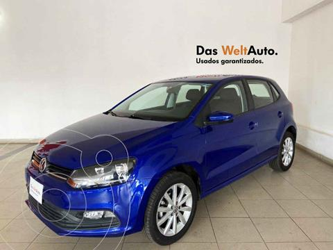 Volkswagen Polo Hatchback Disign & Sound Tiptronic usado (2020) color Azul precio $222,126