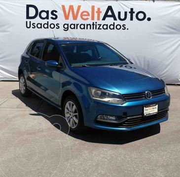 Volkswagen Polo Hatchback 1.6L Aut usado (2018) color Azul precio $193,000