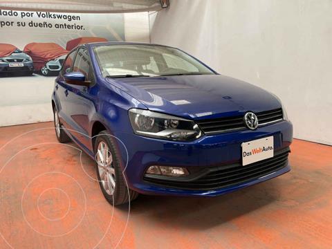 Volkswagen Polo Hatchback Design & Sound usado (2020) color Azul precio $235,000