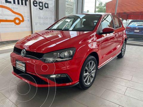 Volkswagen Polo Hatchback Comfortline Plus Tiptronic usado (2020) color Rojo precio $265,000