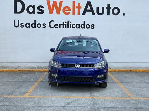 Volkswagen Polo Hatchback Comfortline Plus usado (2020) color Azul Metalico financiado en mensualidades(enganche $59,148 mensualidades desde $6,415)