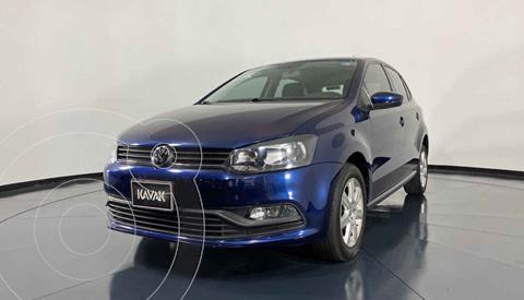 Volkswagen Polo Hatchback 1.6L Aut usado (2016) color Azul precio $194,999