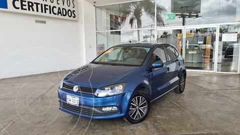 Volkswagen Polo Hatchback 1.6L Aut usado (2018) color Azul precio $195,000