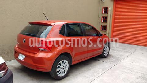 Volkswagen Polo Hatchback Allstar usado (2017) color Naranja precio $160,000