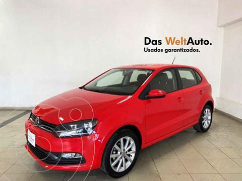 Volkswagen Polo Hatchback Disign & Sound Tiptronic usado (2020) color Rojo precio $234,912