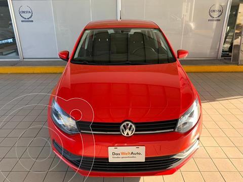 Volkswagen Polo Hatchback Design & Sound Tiptronic usado (2020) color Rojo precio $244,900