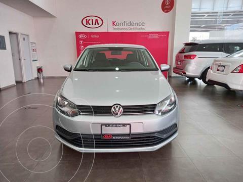 Volkswagen Polo Hatchback Startline Tiptronic usado (2019) color Plata precio $189,000
