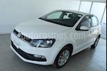 Foto venta Auto usado Volkswagen Polo 1.6L Base 5P (2018) color Blanco precio $215,000