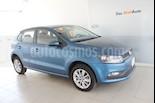 Foto venta Auto Seminuevo Volkswagen Polo 1.6L Base 5P (2018) color Azul precio $225,000