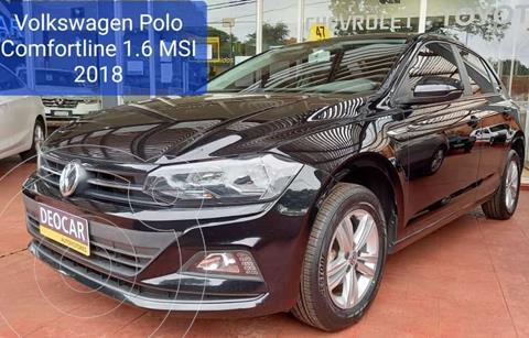 Volkswagen Polo 1.6 Comfortline MT (105cv) usado (2018) color Negro precio $2.300.000