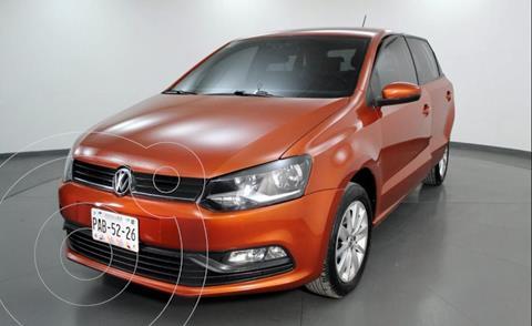 Volkswagen Polo 1.6L Base 4P usado (2018) color Naranja precio $163,000