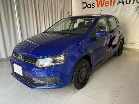 Volkswagen Polo STARTLINE 1.6L L4 105HP TIP usado (2020) color Azul precio $215,000