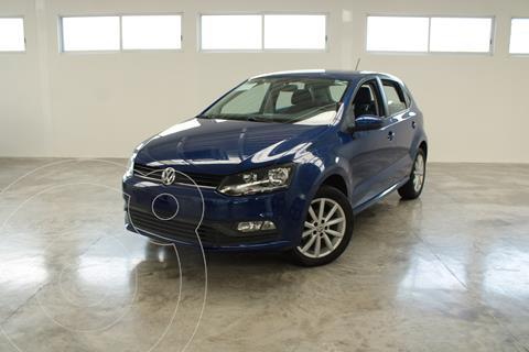 Volkswagen Polo DESING SOUND 1.6L L4 105HP TM usado (2019) color Azul precio $275,000