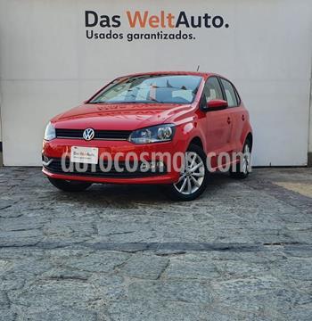 Volkswagen Polo 1.6L Base 4P usado (2020) color Rojo precio $230,000