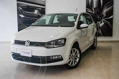 Volkswagen Polo DESING SOUND 1.6L L4 105HP TM usado (2020) color Blanco precio $229,000