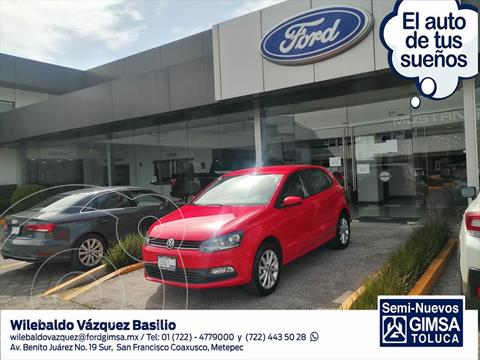Volkswagen Polo DESIGN & SOUND STD. usado (2020) color Rojo precio $224,000