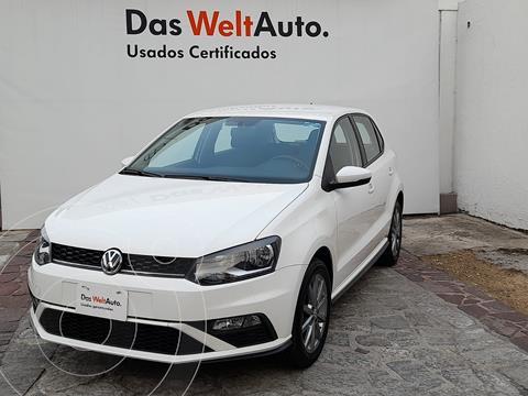 Volkswagen Polo 1.6L Base 4P usado (2020) color Blanco precio $280,000